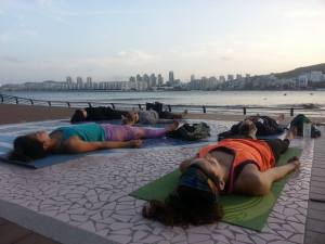 Sunset Savasana