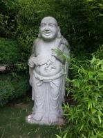 Smiling Buddha.