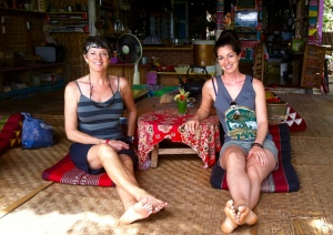 My Mom & I in Thailand