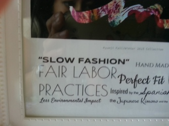 """slow fashion"" fair laobr"