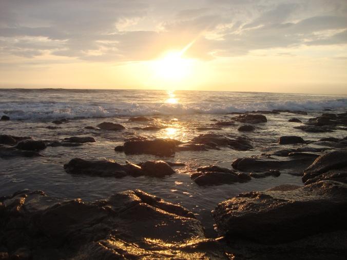 Beach sunset (Nicaragua)