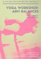 yoga workshoparm balances