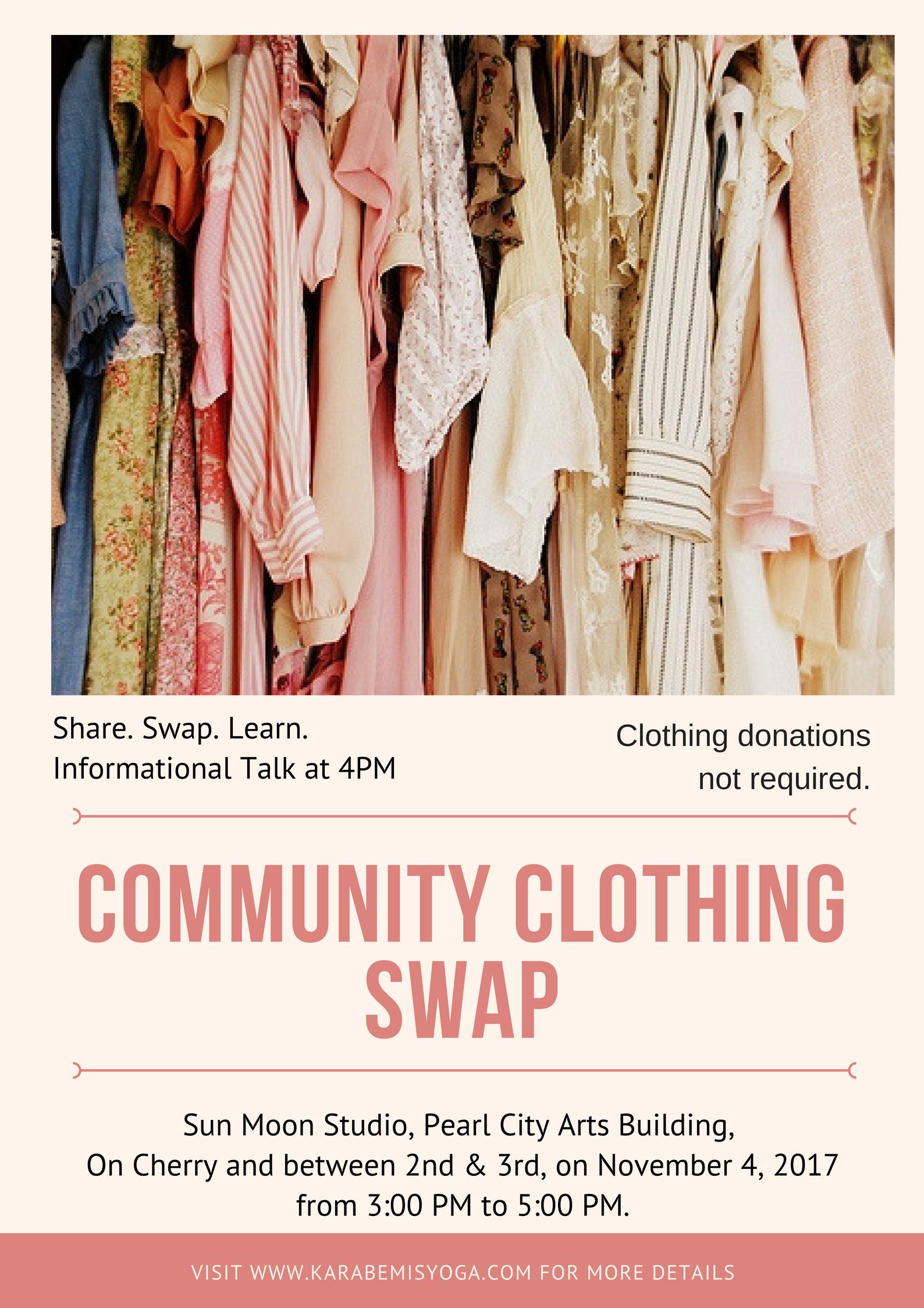 community clothing swap